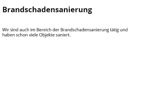 Brandschutzbeschichtung für  Bad Oeynhausen