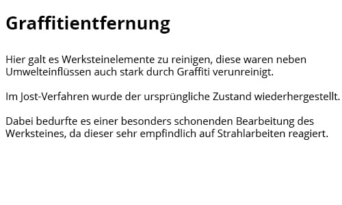 Graffitientfernung für  Ratingen