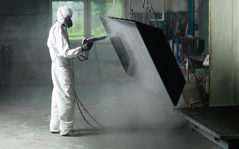 Sandstrahlen Berlin - Doerffer Sandstrahltechnik GmbH: Trockeneisstrahlen, Glasperlenstrahlen, Oberflächen verchromen, Brandschutzbeschichten, Hochglanzverdichten